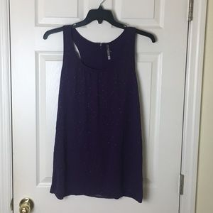 Charlotte Russe tunic tank top